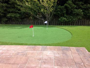 Golf Putting Greens Duarte California Fake Grass  Yard artificial grass