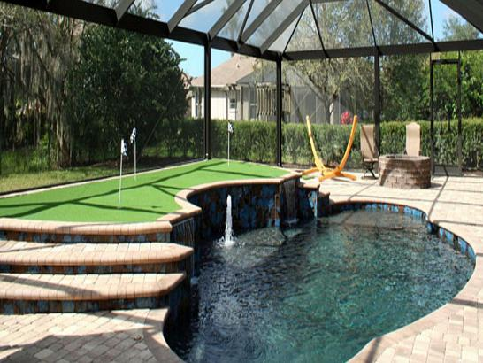 Artificial Grass Photos: Putting Greens Las Flores California Artificial Turf  Swimming